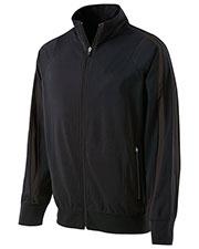 Holloway 229142 Men Polyester Full Zip Determination Jacket at GotApparel