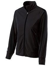 Holloway 229342 Women Polyester Full Zip Determination Jacket at GotApparel