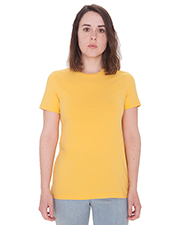 Custom Embroidered American Apparel 23215OW Ladies 4.3 oz Organic Fine Jersey Classic T-Shirt at GotApparel