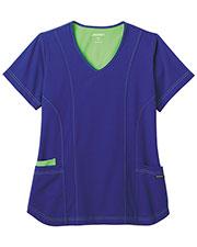 Jockey® 2334 Women Modern Contrast Stitch Stretch Top at GotApparel