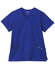 Jockey® 2367 Women Scrubs AsymmetricalGrommet Top at GotApparel
