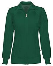 Cherokee 2391A Women Zip Front Warm-Up Jacket at GotApparel