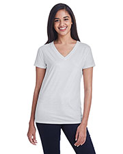 Threadfast Apparel 240RV Women 4.2 oz Liquid Jersey V-Neck T-Shirt at GotApparel