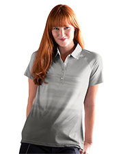 Vansport 2436 Women S  Pro Ombr Print Polo at GotApparel