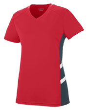 Augusta 2502 Women Oblique Jersey at GotApparel