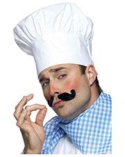 Smiffys 25978 Men Chef Hat, White at GotApparel