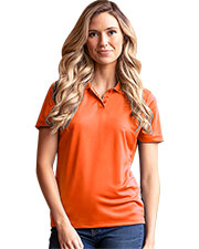 Vansport 2601 Women 's  Omega Solid Mesh Tech Polo at GotApparel