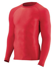 Augusta 2605 Boys Hyperform Compression Long Sleeve Shirt at GotApparel