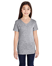 LAT 2607 Girls 4.5 oz Fine Jersey T-Shirt at GotApparel