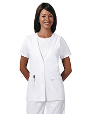 Cherokee 2610 Women Lace Trimmed Vest at GotApparel
