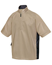 Tri-Mountain 2610 Men Icon Windproof 1/4-Zip Wind Shirt at GotApparel