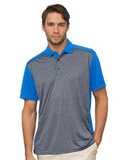 Vansport 2615 Men Two-Tone Polo at GotApparel