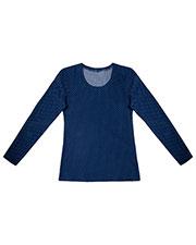 Cherokee 2655 Women Reversible Knit Top at GotApparel