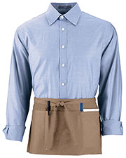 Augusta 2700 Unisex Cafe Waist Apron at GotApparel