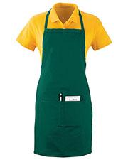 Augusta 2730 Unisex Oversized Waiter Cotton Apron With Pockets OneSize at GotApparel