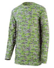 Augusta 2789 Boys Digi Camo Wicking Long Sleeve T-Shirt at GotApparel