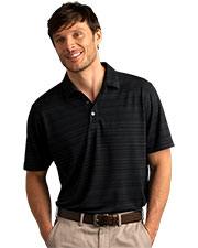 Vansport 2795 Men Strata Textured Polo at GotApparel