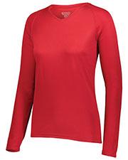 Augusta 2797 Women Attain Wicking Long Sleeve Shirt at GotApparel