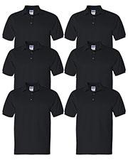 Gildan G280 Men Ultra Cotton 6 Oz. Jersey Polo 6-Pack at GotApparel