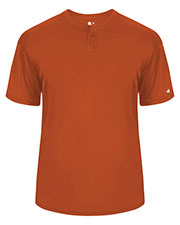 Badger 2930 Boys Youth B-Dry Core Placket Tee at GotApparel
