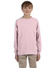 Jerzees 29BL Boys 5.6 Oz. 50/50 Heavyweight Blend Long-Sleeve T-Shirt at GotApparel