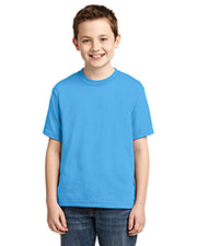 Jerzees 29B Boys 5.6 oz Dri-Power®Active 50/50 Cotton/Poly T-Shirt at GotApparel