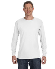 Jerzees 29L Men Dri-Power Active 50/50 Long-Sleeve T-Shirt at GotApparel