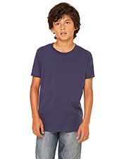 Bella + Canvas 3001Y Boys Jersey Short-Sleeve T-Shirt at GotApparel