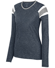 Augusta 3012 Women Long Sleeve Fanatic Tee at GotApparel