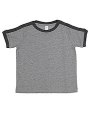 Rabbit Skins 3032 Toddler Soccer Ringer Fine Jersey T-Shirt at GotApparel