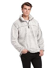 Burnside 3050 Men 1/4 Zip Sherpa Pullover Jacket at GotApparel