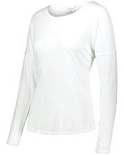 Augusta 3077 Women Lux Triblend Long Sleeve T-Shirt at GotApparel