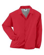 Augusta 3100 Men Lined Nylon Coachs Jacket at GotApparel