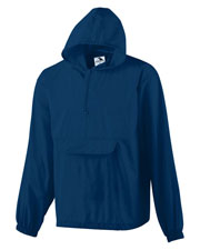 Augusta 3130 Men Packable Half-Zip Pullover at GotApparel