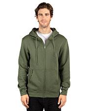 Threadfast Apparel 320Z Unisex Ultimate Fleece Full-Zip Hooded Sweatshirt at GotApparel