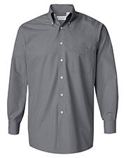 Van Heusen 13V0113 Men Silky Poplin Shirt at GotApparel