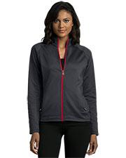 Vantage 3271 Women 's Brushed Back Micro-Fleece Full-Zip Jacket at GotApparel