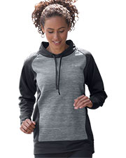 Vansport 3274 Women S  Spacedye Blocked Pullover at GotApparel