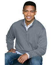 Vantage 3280 Men Premium Cotton 1/4-Zip Fleece Pullover at GotApparel