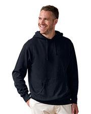 Vantage 3287 Men Premium Lightweight Fleece Pullover Hoodie at GotApparel