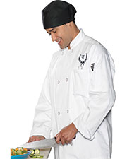 Edwards 3300 Men Casual Full Cut Chef Coat at GotApparel