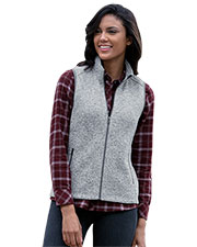 Vantage 3308 Women S Summit Sweater-Fleece Vest at GotApparel