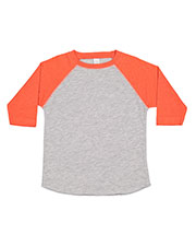 Rabbit Skins 3330 Toddlers Vintage Fine Jersey Baseball T-Shirt at GotApparel