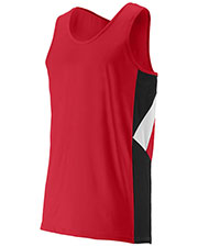 Augusta 333 Boys Sleeveless Sprint Running Jersey at GotApparel