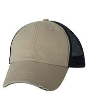 Mega Cap 6887 Unisex Organic Cotton/Mesh Cap at GotApparel