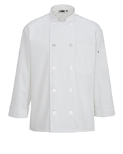 Edwards 3363 Unisex 10 Button Chef Coat at GotApparel