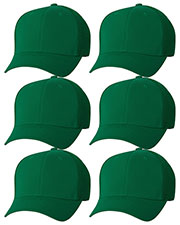 Yupoong 6533 Unisex Flexfit Ultrafibre Cap 6-Pack at GotApparel