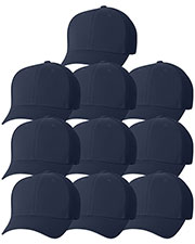 Yupoong 6533 Unisex Flexfit Ultrafibre Cap 10-Pack at GotApparel
