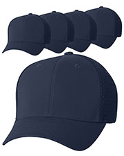 Yupoong 6533 Unisex Flexfit Ultrafibre Cap 5-Pack at GotApparel