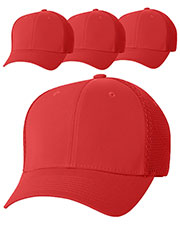Yupoong 6533 Unisex Flexfit Ultrafibre Cap 4-Pack at GotApparel
